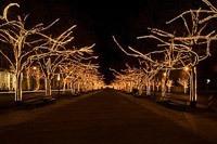 Подключение освещения зданий в Ярославле